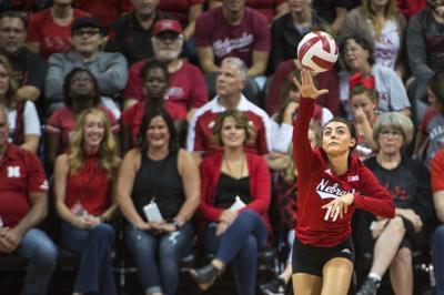 NU volleyball vs. Michigan, 9/21/18