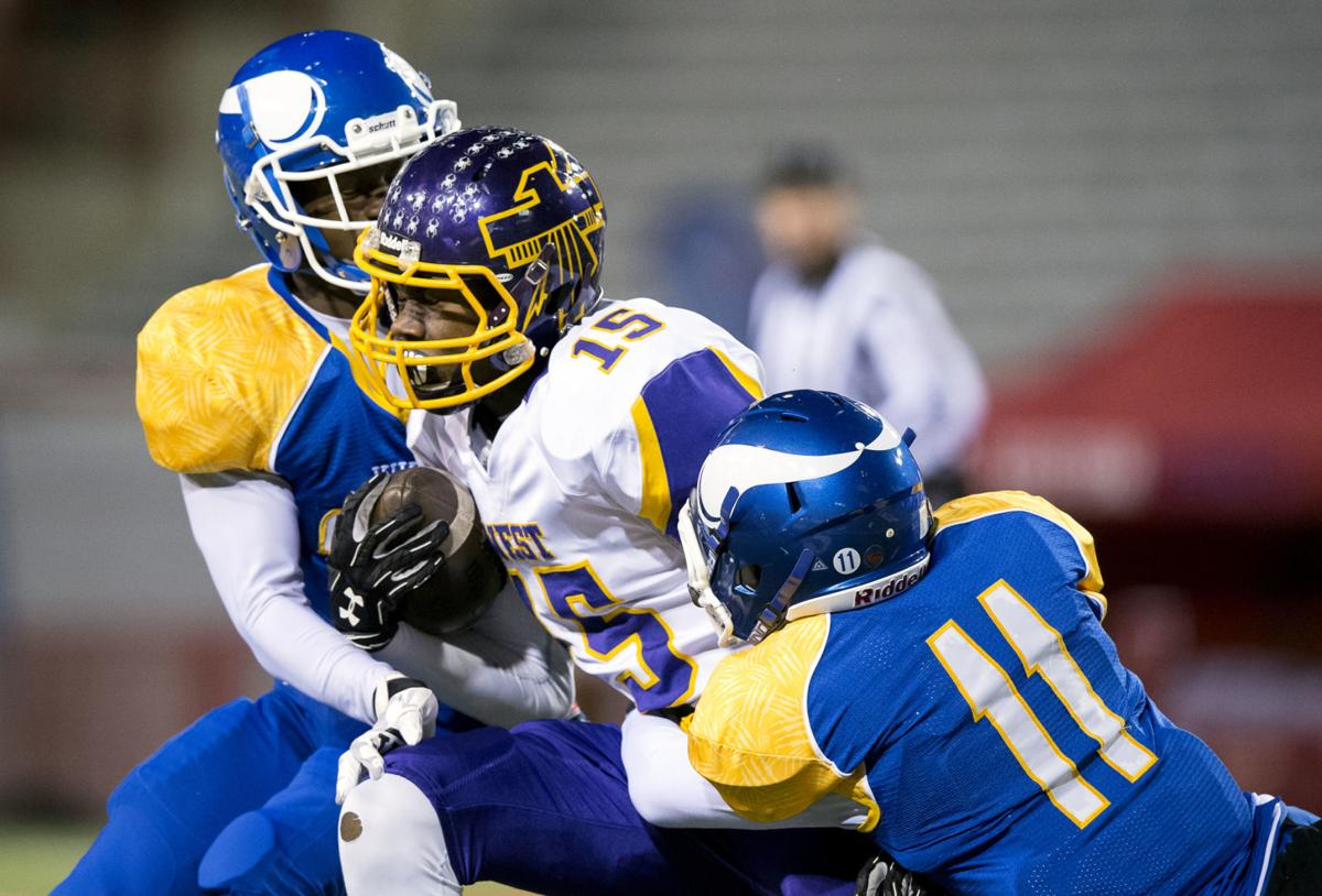 Class A championship: Omaha North v. Bellevue West, 11/21
