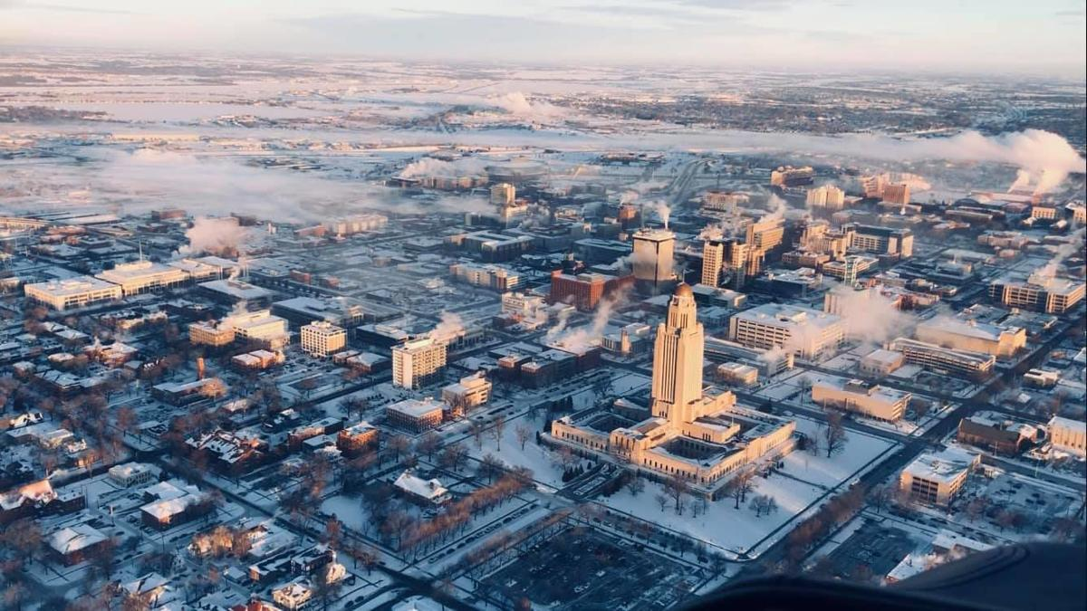 Lincoln aerial