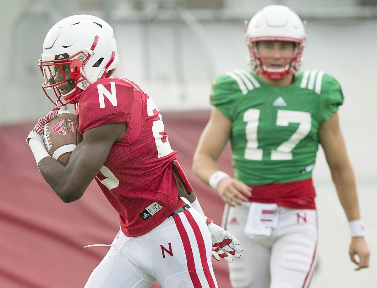 Huskers fall practice, Day 5, 8/8