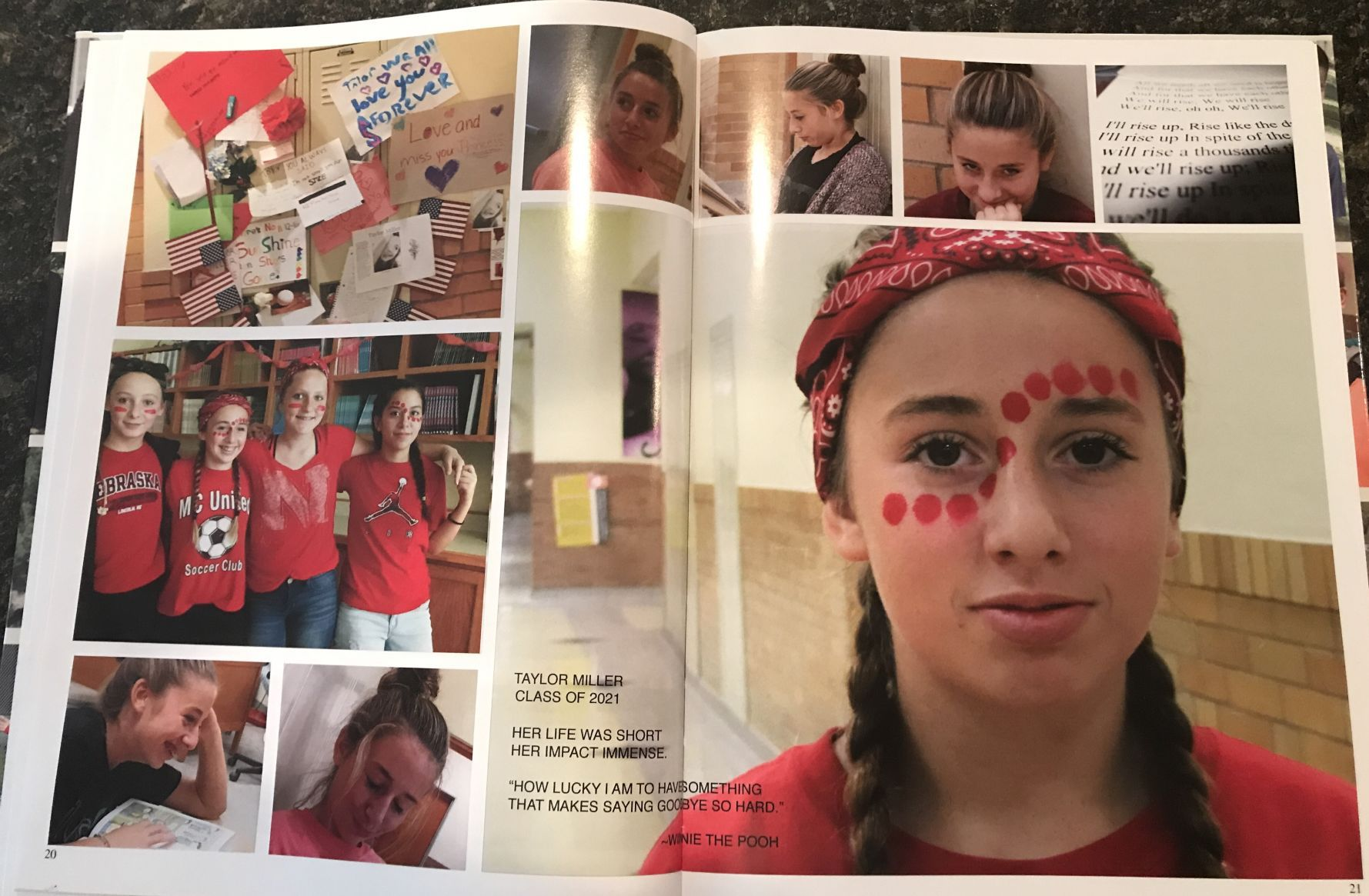 What to write in a yearbook profile