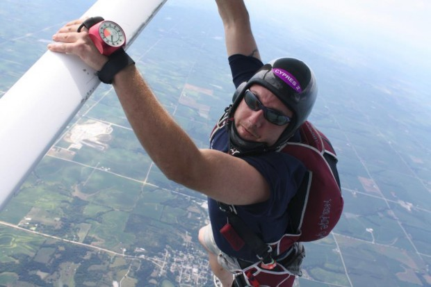 Man made lifestyle change for skydiving | Cornhusker State