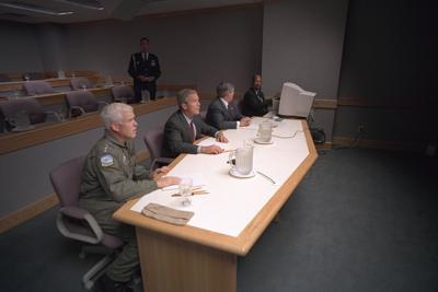 On 9/11, as StratCom played war game, the ugly reality of terror arrived
