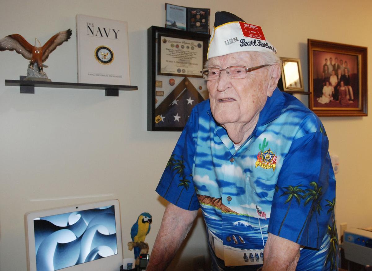 Pearl Harbor Barsell remembers