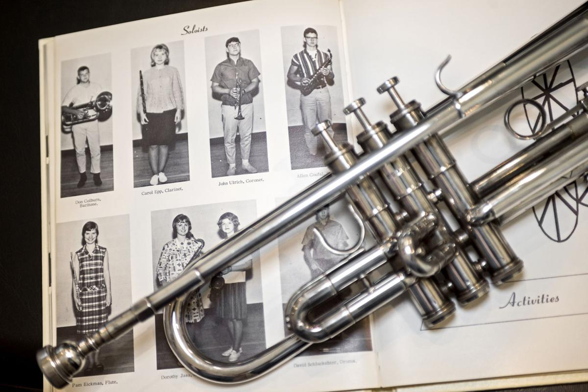 A music teacher, a well-traveled trumpet, and Doc ... on