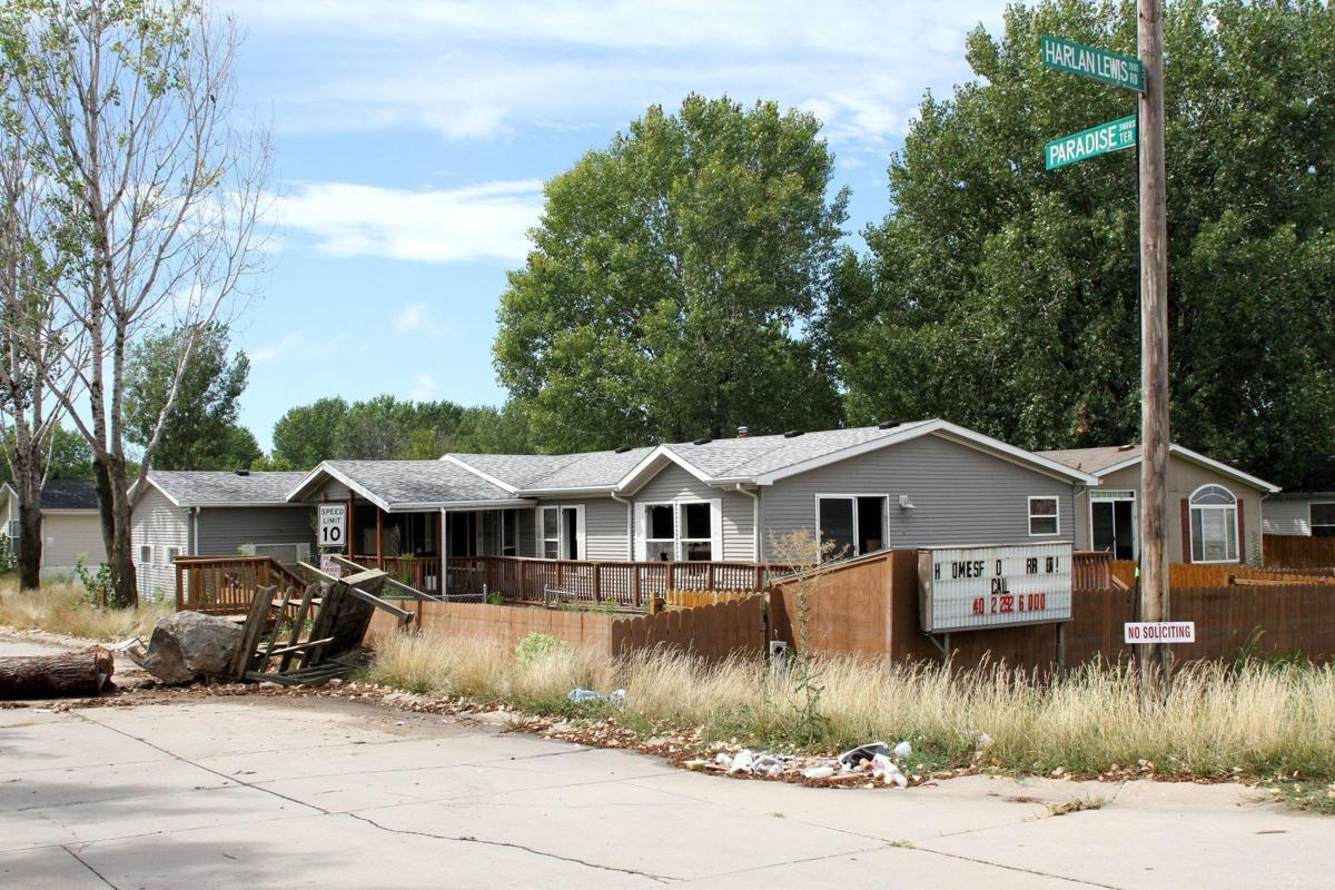 Paradise Lakes community's imminent demolition