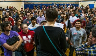 Democratic caucus: Park Middle School