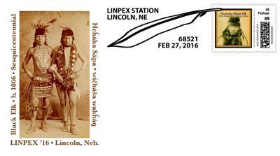 Black Elk stamps