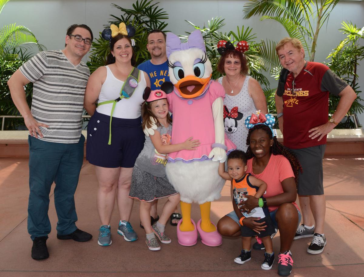 The Buckleys at Walt Disney World Epcot Center