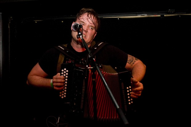 Dave Socha of Bolzen Beer Band