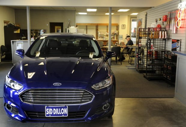 A New Ford Fusion Awaits Er On The Showroom Floor At What Is Now Sid Dillon In Ceresco Wednesday