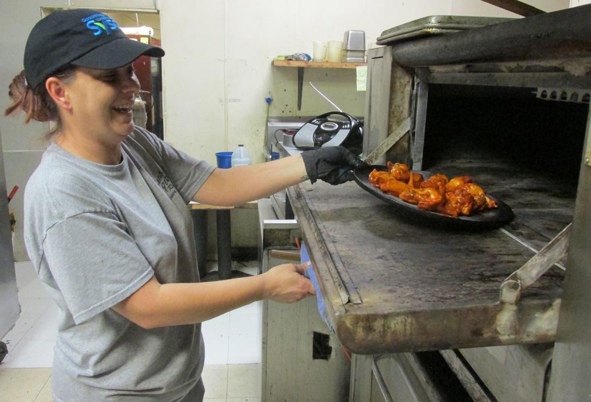 Kitchen manager Karey Camacho