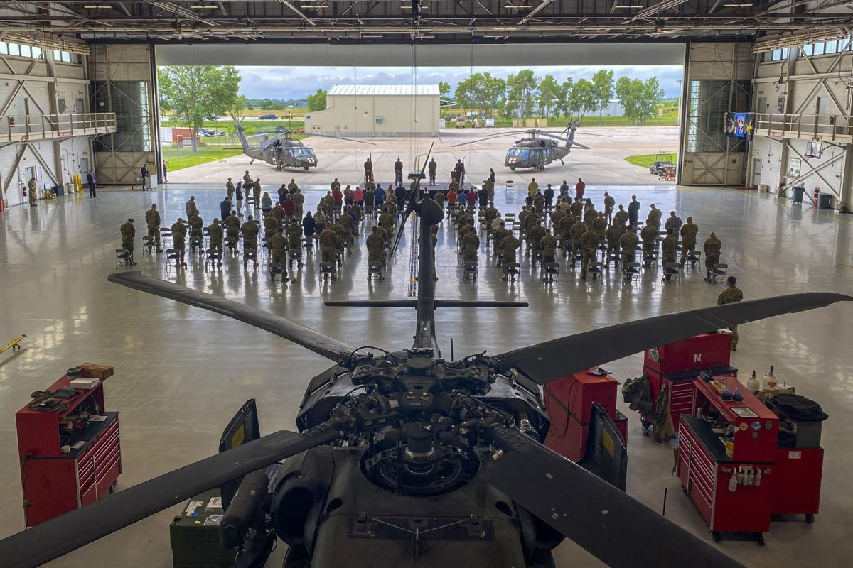 Nebraska Soldiers honored for 2019 flood rescues