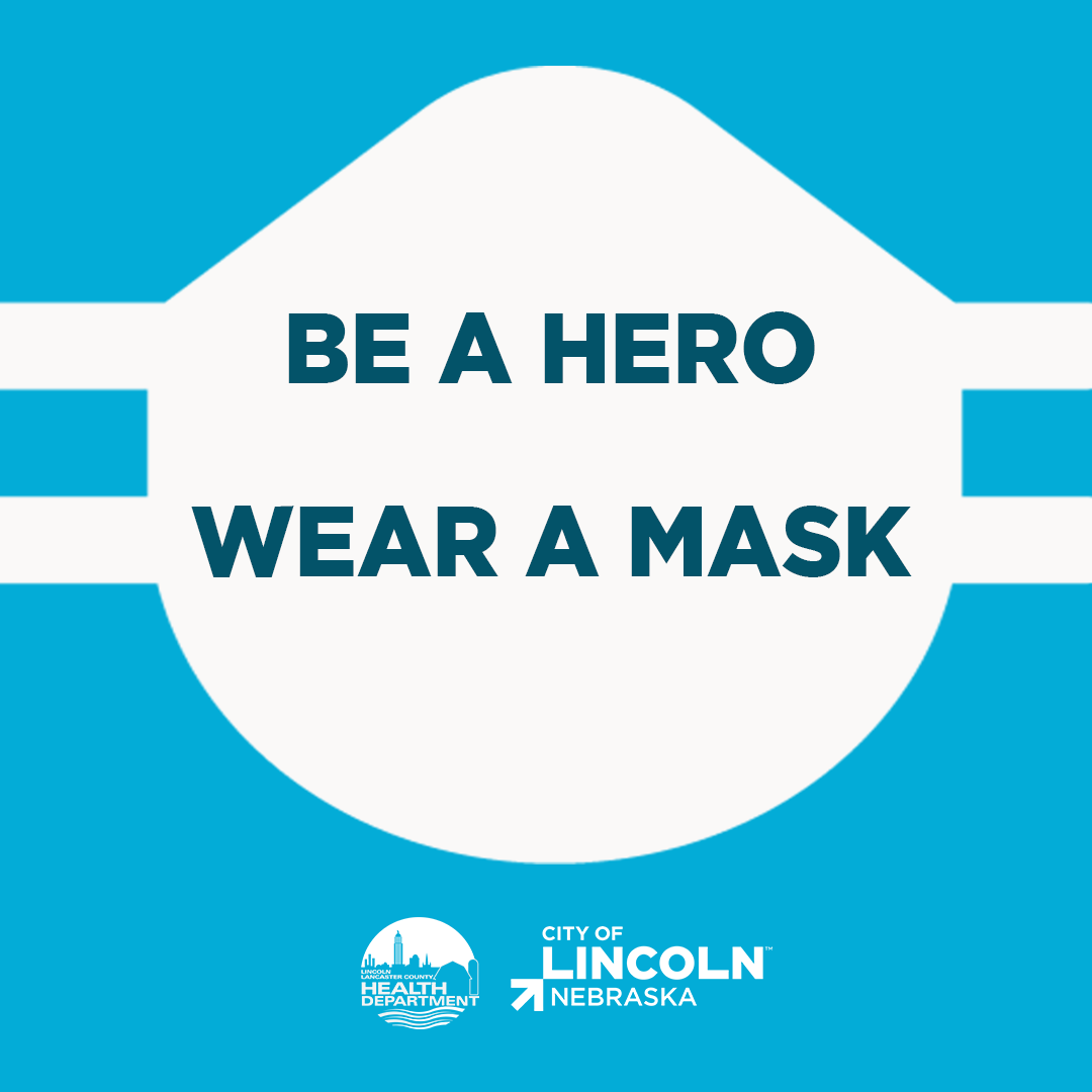 City of Lincoln mask logo