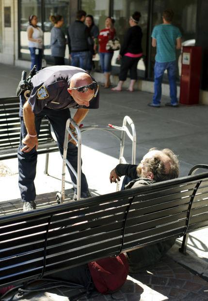 Aggressive Panhandling Homeless Population Increasing