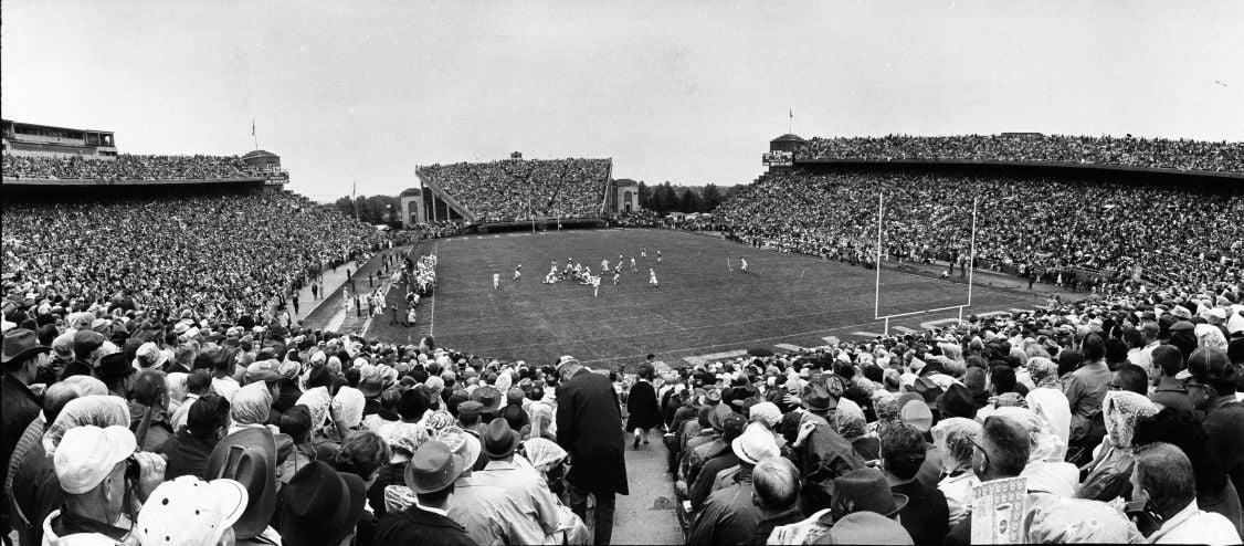 Memorial Stadium 1965