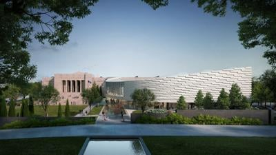Joslyn Art Museum embarks on $100 million addition