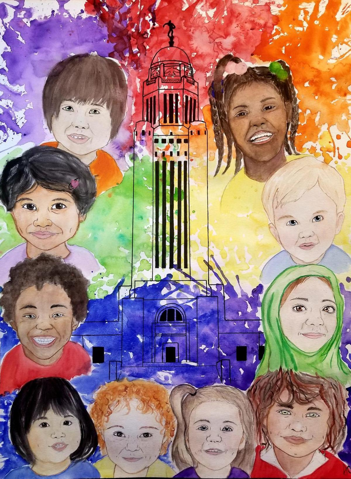"""""""The Colors of the Capitol"""" by Shailee Curin"""