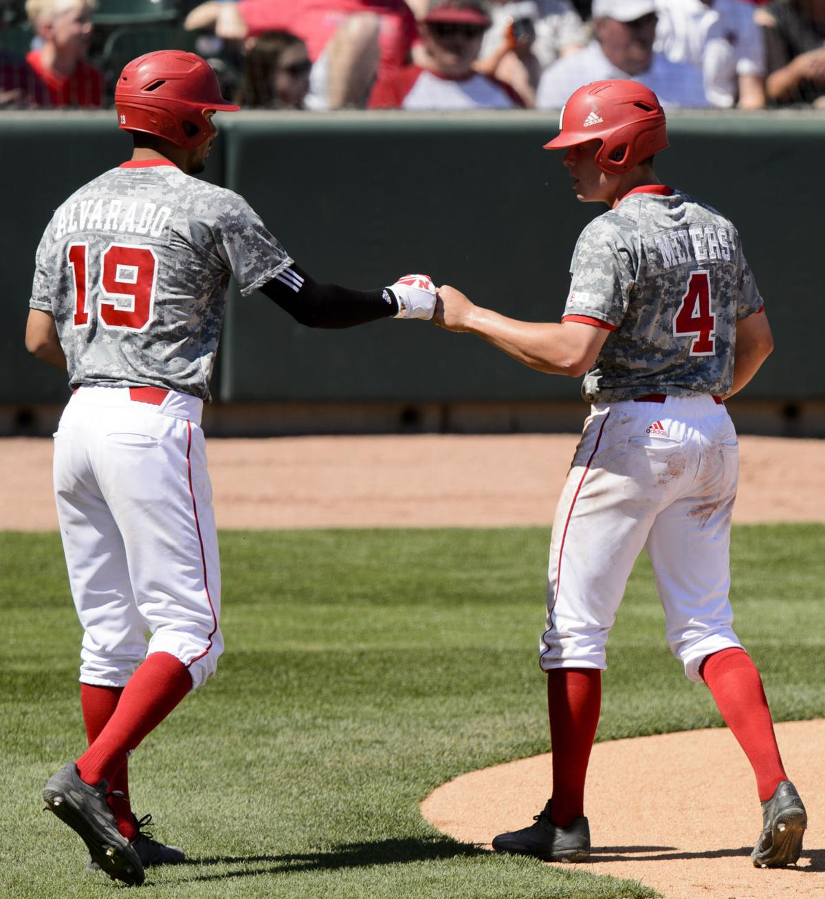 Photos: Nebraska Baseball Powers Past Rutgers For Series