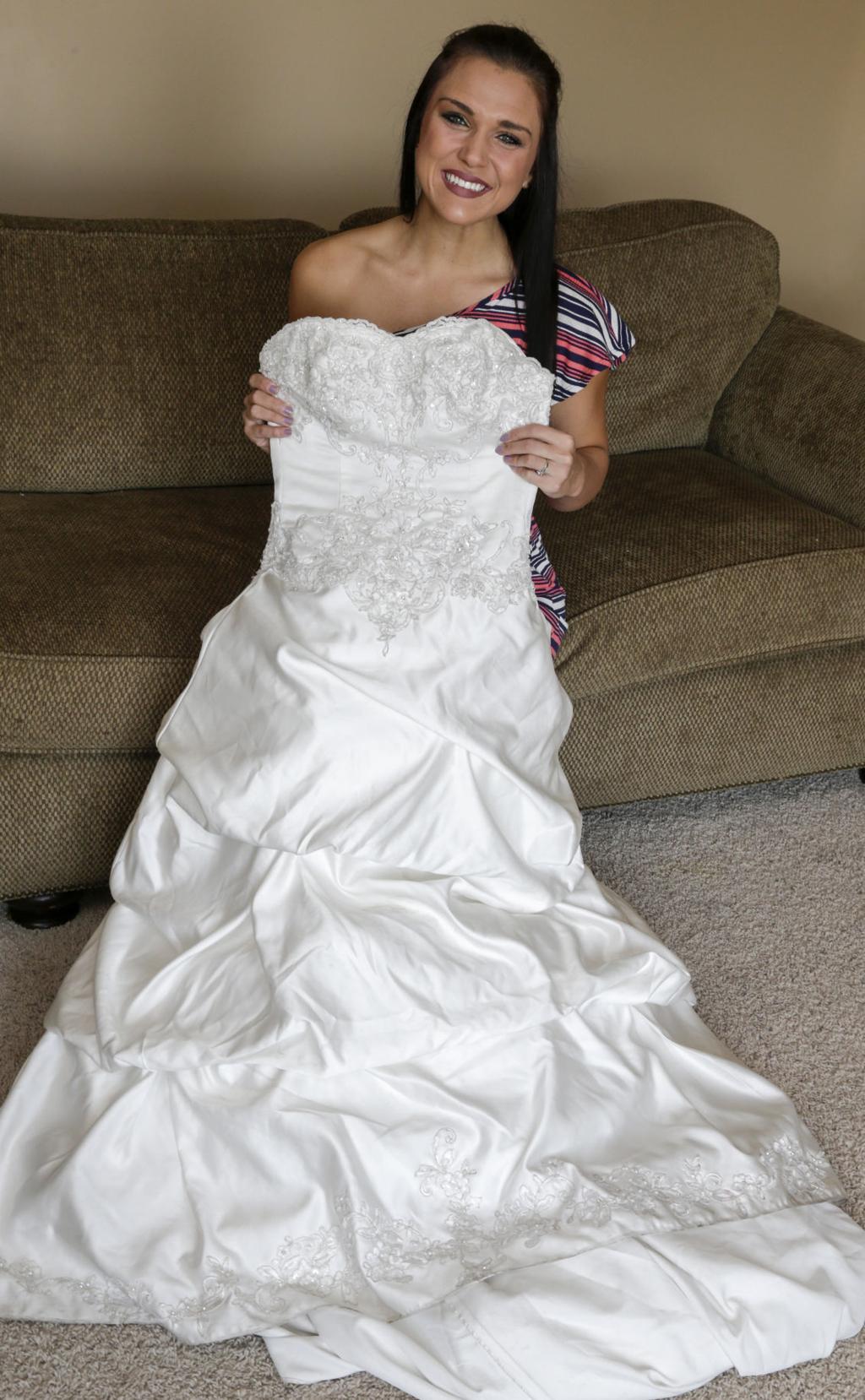 Nebraska woman lends her wedding dress to brides on a budget ...