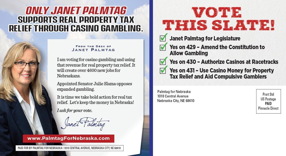 Palmtag gambling mailer