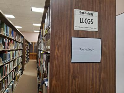 Genealogy section at Union College