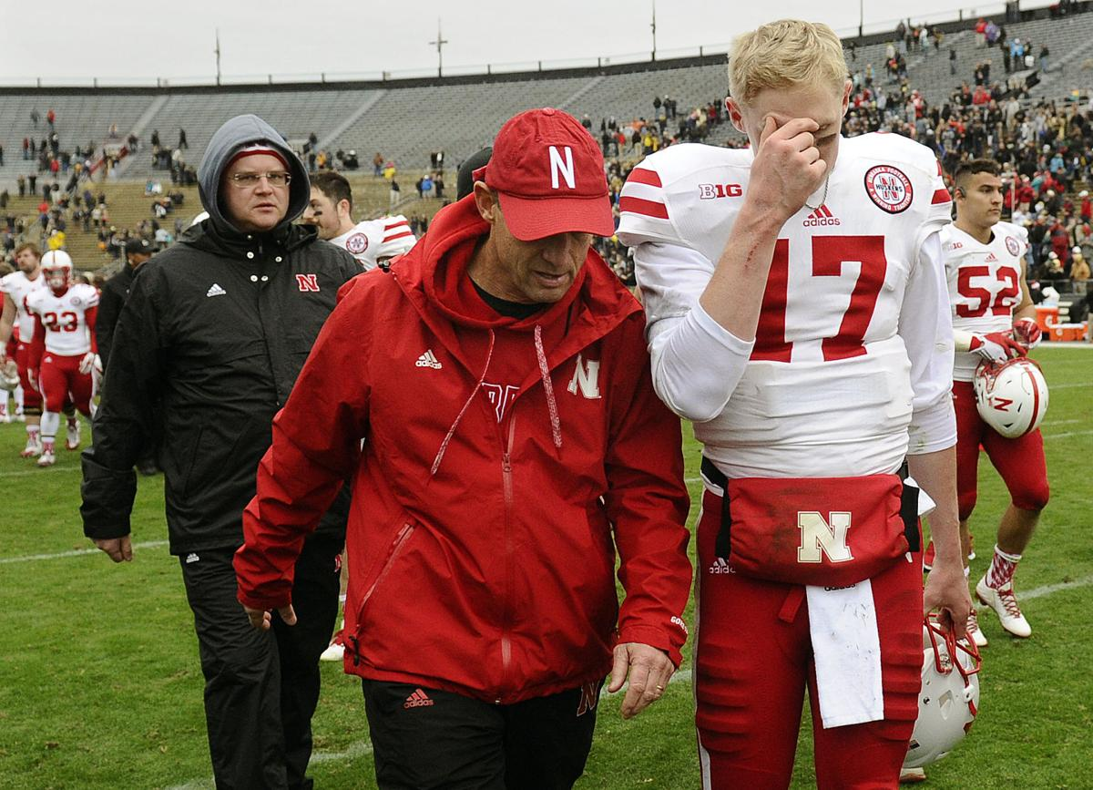 Mike Riley and Ryker Fyfe