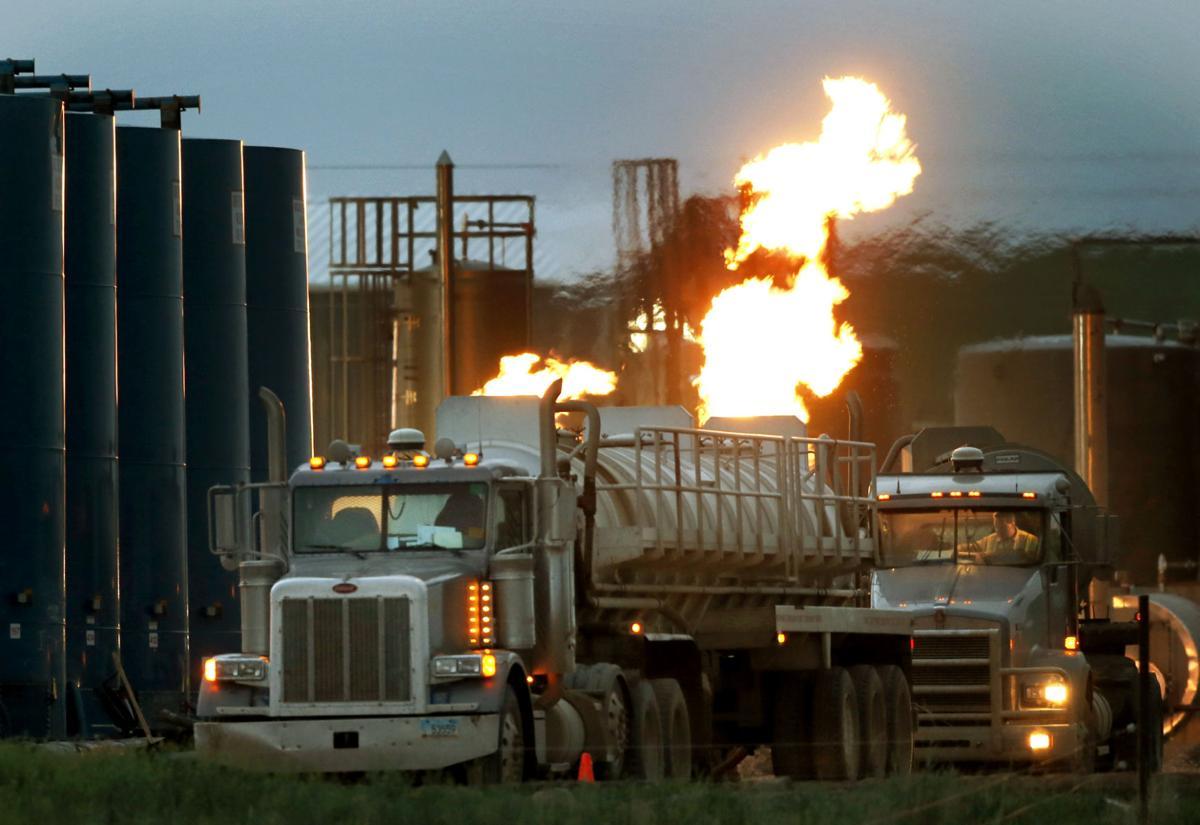 APTOPIX Oil Boom Photo Gallery