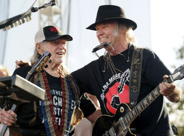Willie Nelson, Neil Young