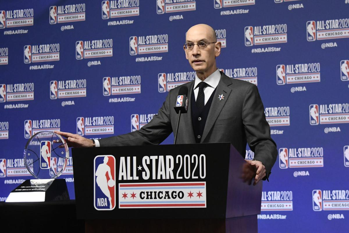 NBA Commissioner Adam Silver