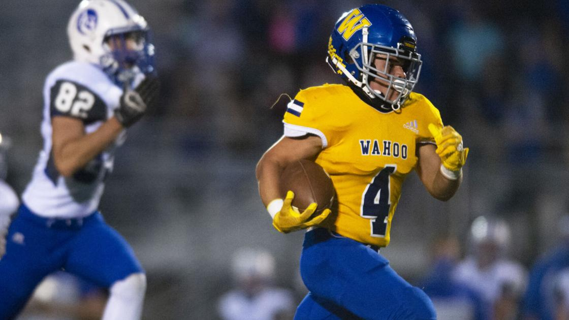 Heartland Athletic Conference and area football statistical leaders, 10/21