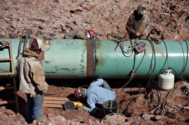 Keystone XL pipeline jobs