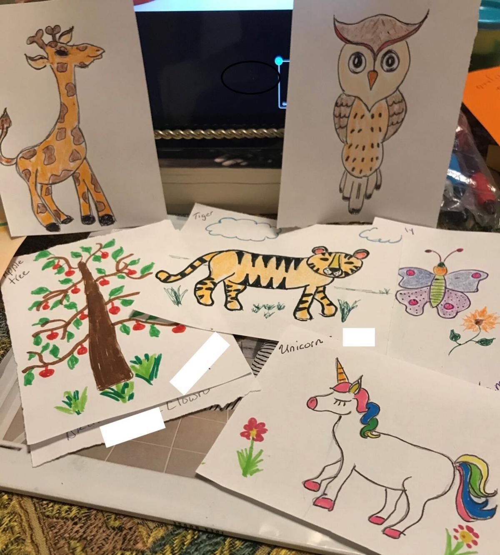Greg Brown's drawings