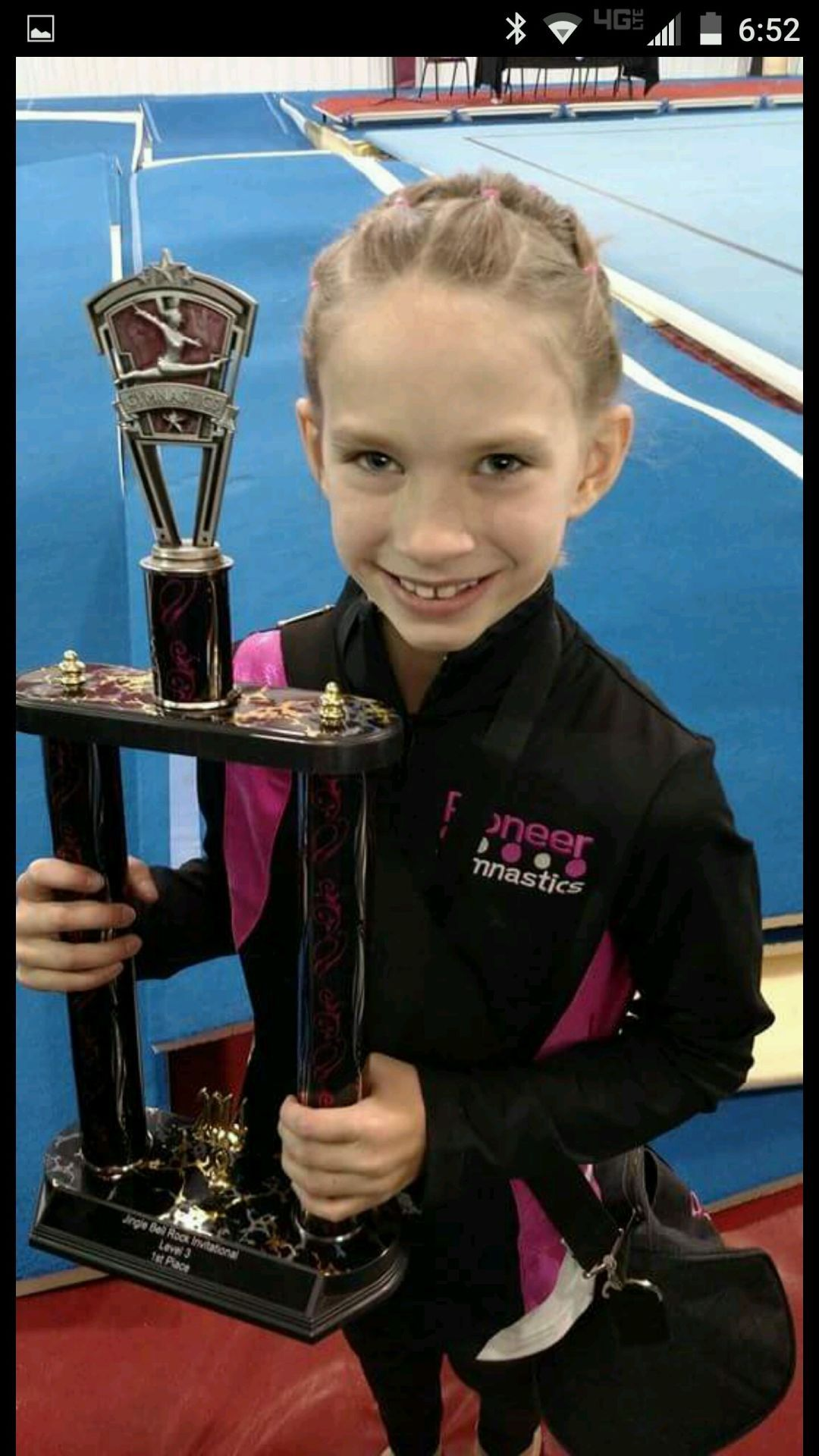Young Gymnast At Pioneer Gymnastics Academy Tumbles Her Way To The