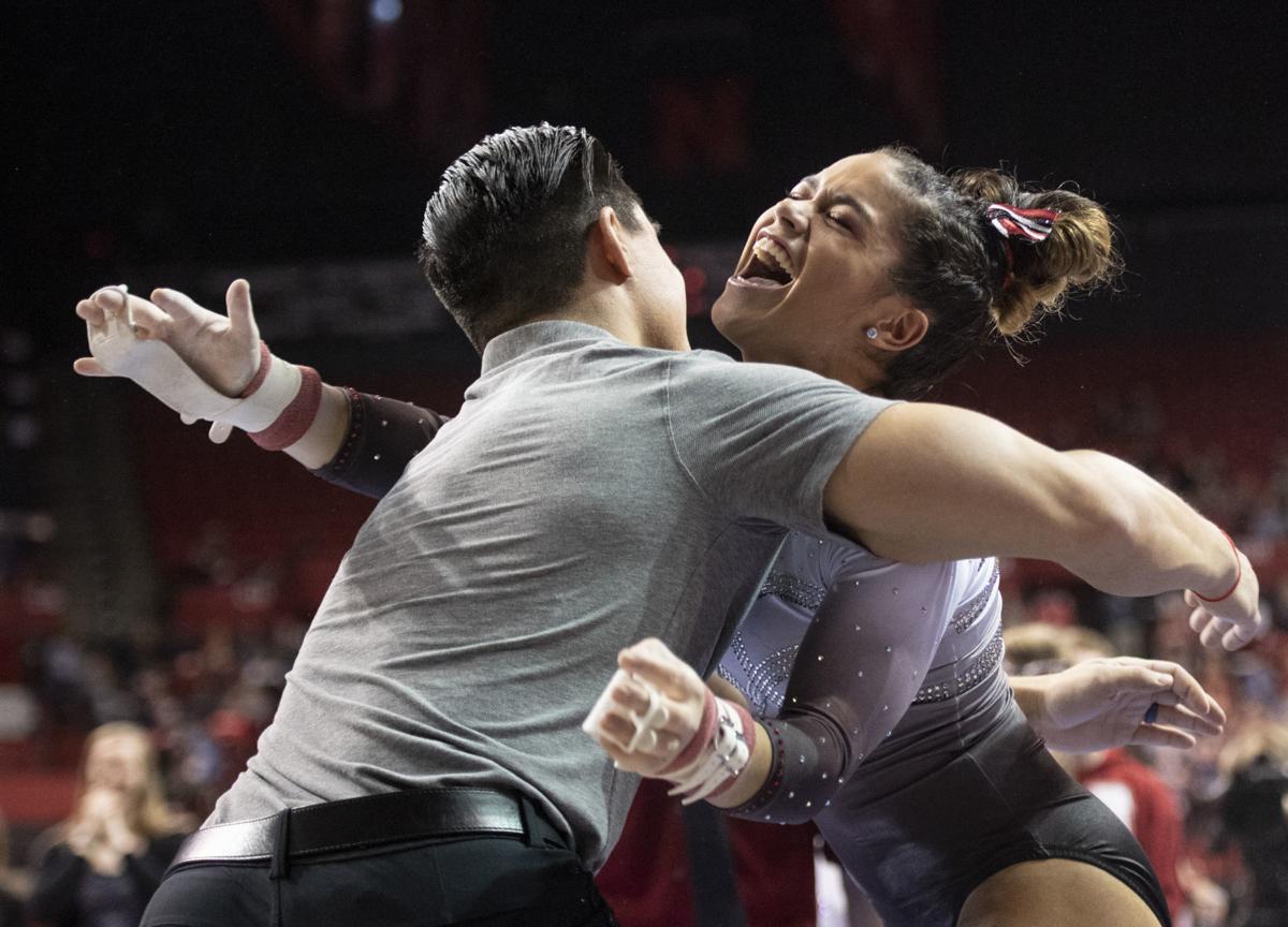 NU women's gymnastics, 3.16