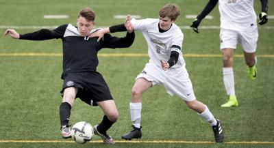 Lincoln Northeast vs. Lincoln Southeast boys soccer, 3/20
