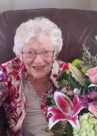 Marjorie Tauriella celebrates 100th birthday!