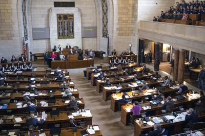 Legislature chamber