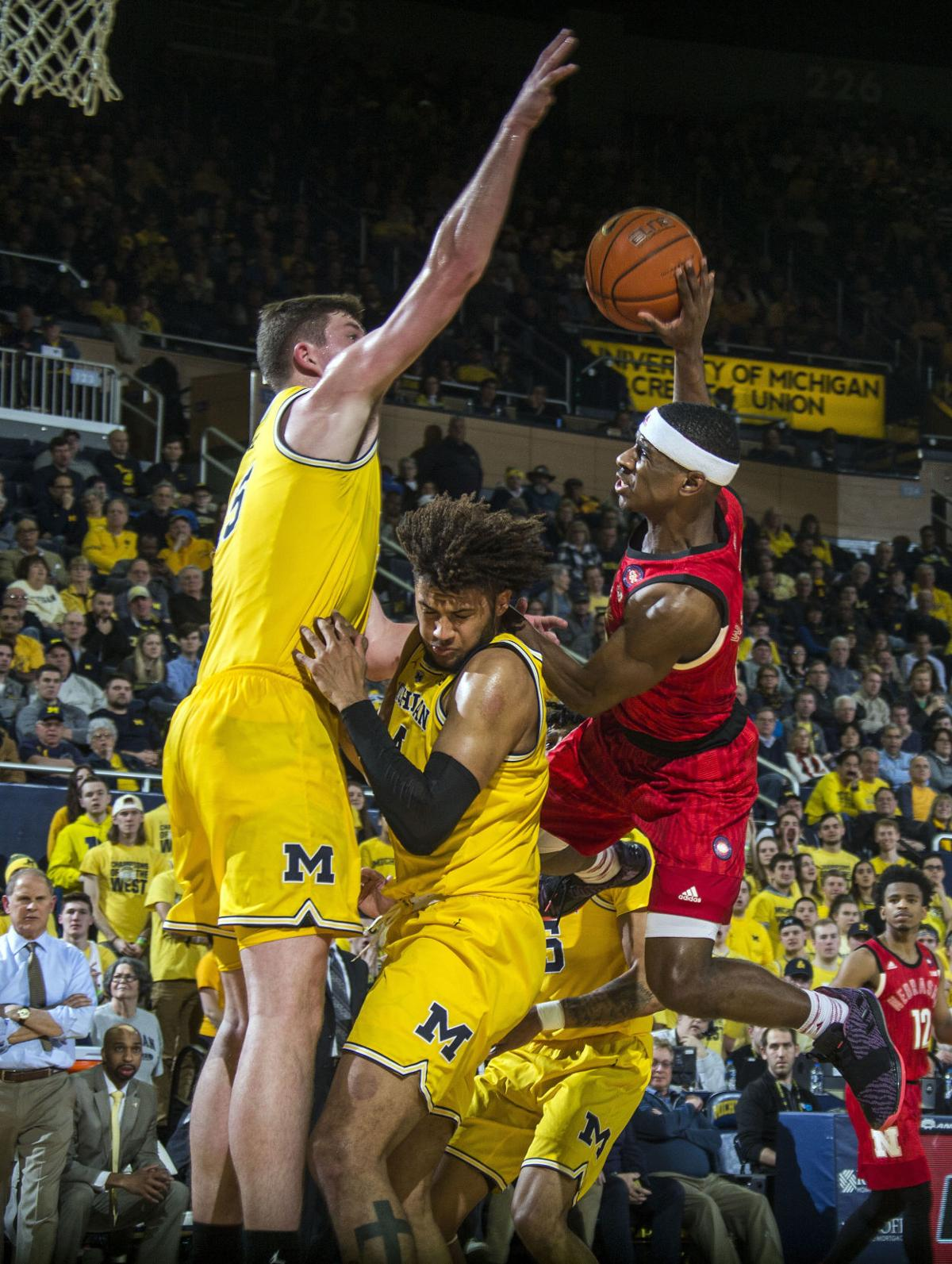 Nebraska Michigan Basketball
