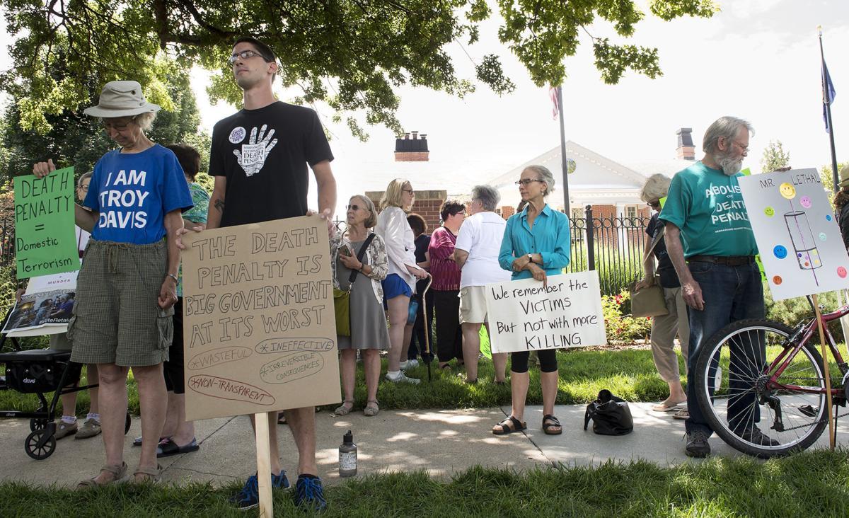 Death penalty vigil