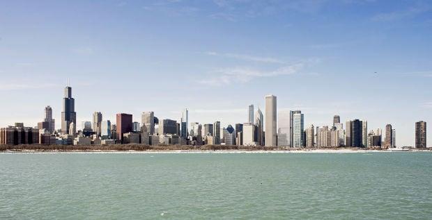 Chicago Skyline, 03/04/2015