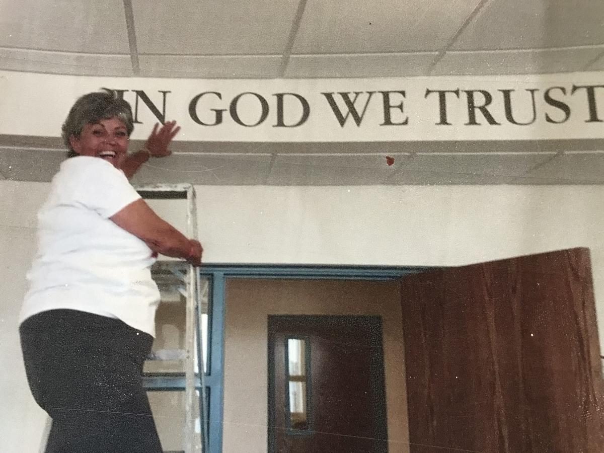"""Barb Otto """"In God We Trust"""""""