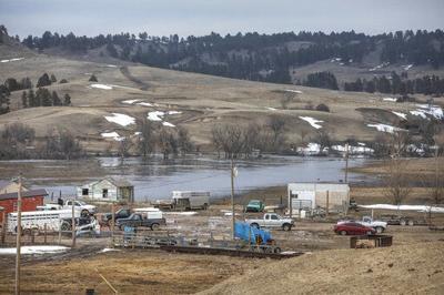 Flooding hits South Dakota American Indian reservation hard