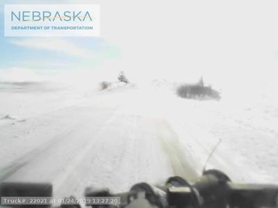 Nebraska's new snowplow cameras attract nearly 30,000 users on first