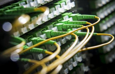 Fiber-optic wiring