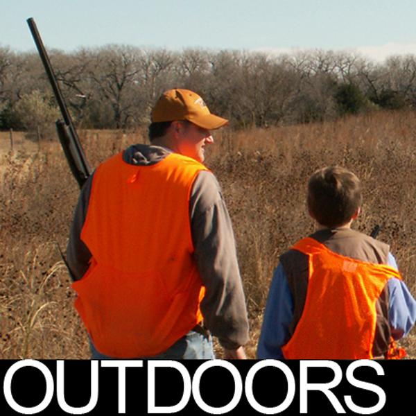 Outdoors logo - hunting