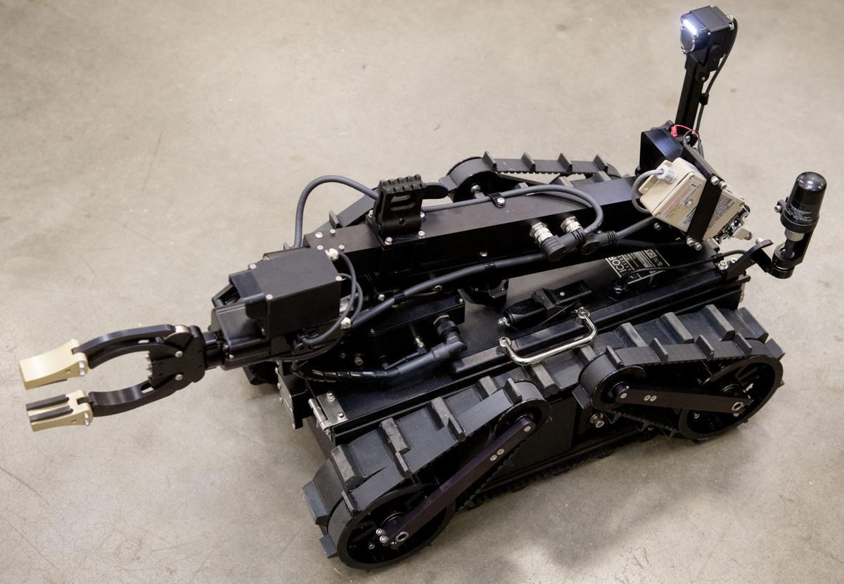 Lincoln bomb robot