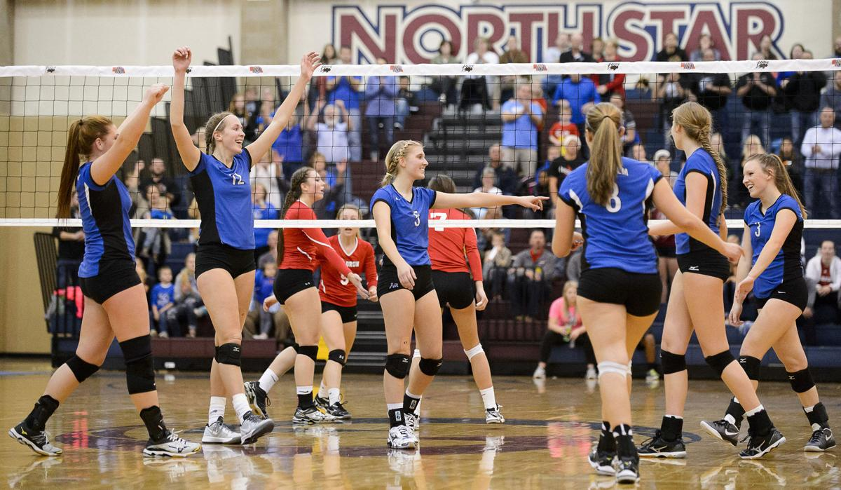 Collection: Thursday's first round of state volleyball