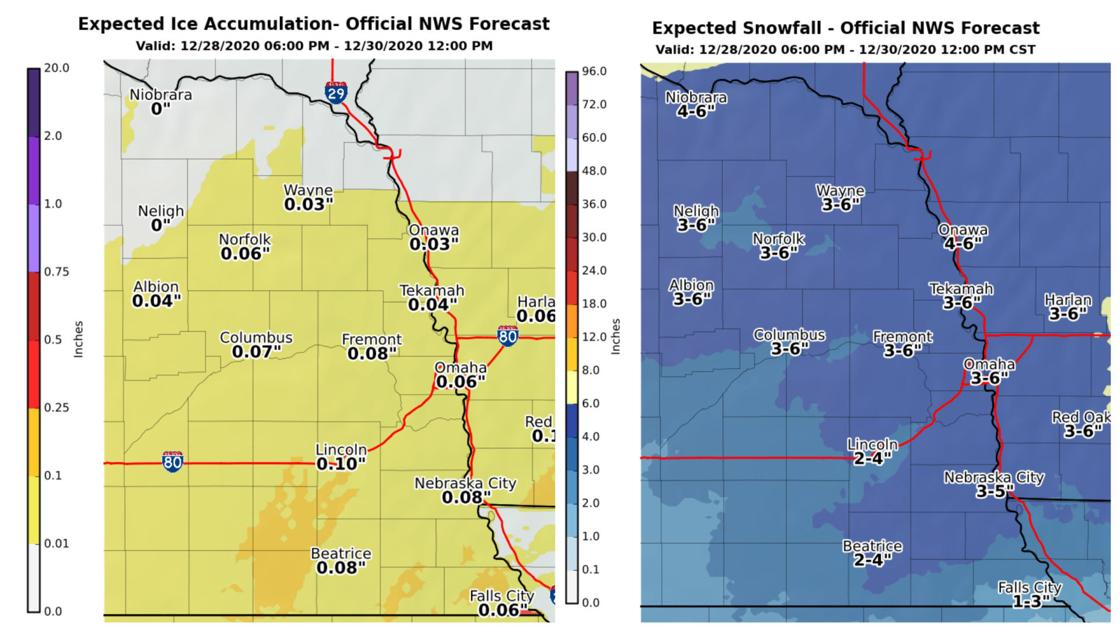 Lincoln may see less snow, more ice from winter storm