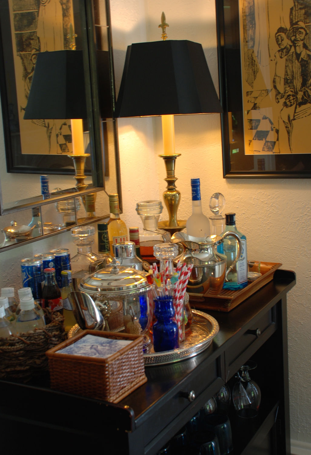 Mary Carol Garrity: Make your bar beautiful and functional | Home ...